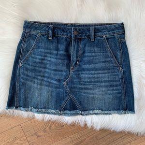 American Eagle High Rise Festival Mini Skirt